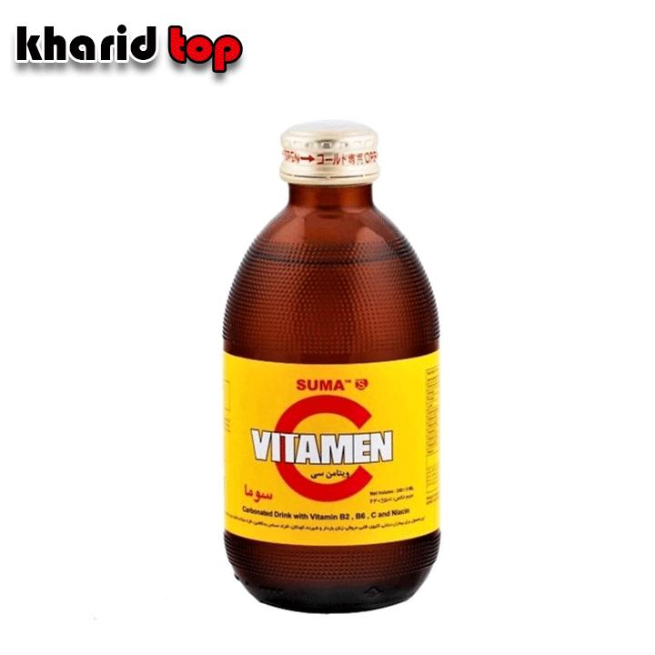 نوشیدنی گاز دار ویتامین c
