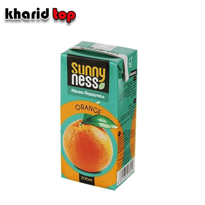 آبمیوه پرتقال سانی نس
