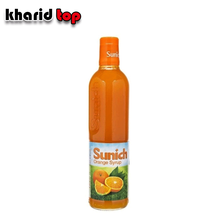 شربت پرتقال شیشه سن ایچ